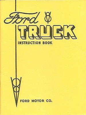 1934 Ford Truck Owner's Manual- V8