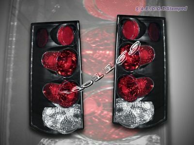 96-00 01 02 GMC SAVANA CHEVY EXPRESS VAN TAIL LIGHTS BK 01 02 Chevy Express Van