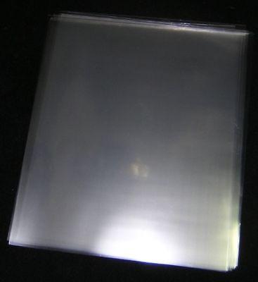 100 ACID-FREE CRYSTAL CLEAR - STATIC RESISTANT - PLASTIC SHEET PROTECTORS