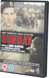 Sunday DVD Jimmy McGovern Eccleston Bloody - NEW SEALED