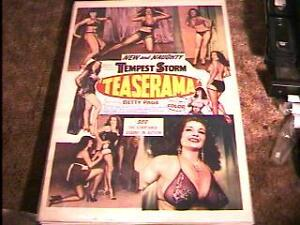 TEASERAMA-ROLLED-27X41-MOVIE-POSTER-55-BETTIE-PAGE