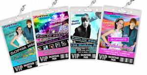 Justin-Bieber-Birthday-Party-VIP-PASS-Invitations-Favor