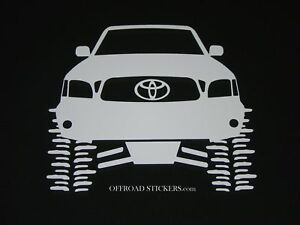 Toyota Tacoma Trd Lifted Rock Crawler Sticker Decal 09 Ebay