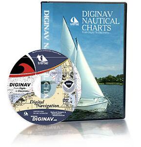NOAA-Nautical-Charts-GPS-Marine-Navigation-Software-DVD