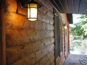 Log siding lumber millwork ebay for 2x6 log siding
