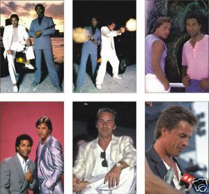 Miami-Vice-Don-Johnson-6-Card-POSTCARD-Set