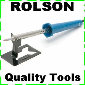 Rolson-30-Watt-Soldering-Iron-Stand-Hobby-Crafts-Pyrography-Tool-30w-60305