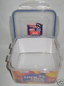 New-Lock-and-Lock-Square-1-2ltr-Food-Container-HPL822D