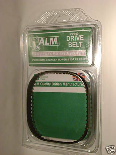 New ALM Performance Power Drive Belt  PWR600 Raker PP600