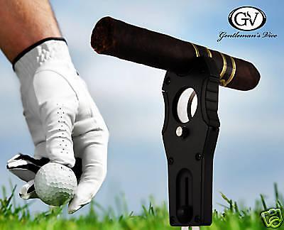Divot Repair Tool Cigar Cutters Cutter Ball Marker tool cigar cutting golf tool