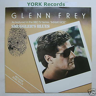 "GLENN FREY - Smuggler's Blues - Ex Con 12""  Single"