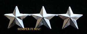 2-TWO-3-STAR-ADMIRAL-US-NAVY-COLLAR-RANK-PIN-USS-O-9
