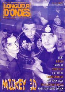LONGUEUR-D-039-ONDES-n-19-Fevrier-avril-2003-Mickey-3D-La-Tordue-Massilia-Lab