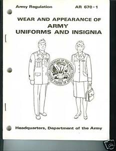 wear and appearance of the army Study flashcards on wear and appearance of military uniforms at cramcom quickly memorize the terms, phrases and much more cramcom makes it easy to get the grade you want.