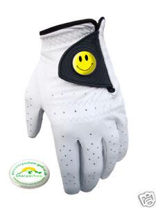 Smiley-Cabretta-Guantes-De-Golf-Ballmarker-Sherpashaw-Gratuita