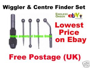 Wiggler-amp-Centre-Finder-Set-tool-for-metal-turning-lathe-amp-milling-work