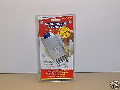 Acu-life Hearing Aid Cleaner Kit