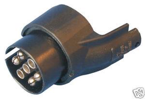 kfz anhanger adapter stecker 13 7 polig 13 7 pol neu. Black Bedroom Furniture Sets. Home Design Ideas