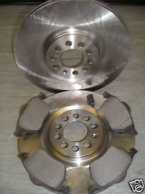 AUDI TT 18 FRONT BRAKE DISCS AND PADS ALL MODELS 1999 2006   NEXT DAY DELIVERY