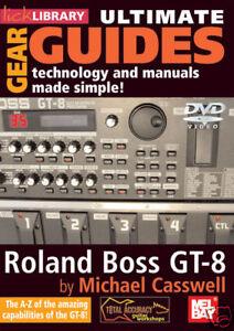 ROLAND-BOSS-GT-8-GUITAR-EFFECT-PROCESSOR-NEW-DVD