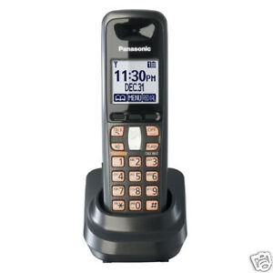 $23.99 - Panasonic KX-TGA641T DECT 6.0 Accessory Expansion Cordless Phone Handset