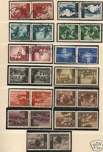Croatia-1941-selection-of-13-combinations-CANC-MLH-VF