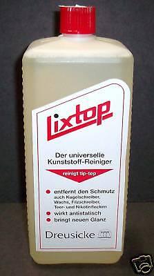 Universeller Kunststoff - Reiniger LIXTOP 1000 ml