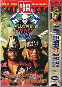 WCW HALLOWEEN HAVOC 1996 '96 VIDEO VHS FACTORY SEALED | eBay