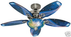 HUNTER-48-BRUSHED-NICKEL-SPACE-THEME-Ceiling-Fan