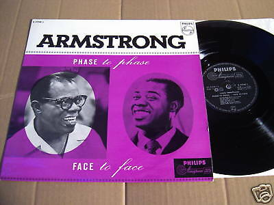 LOUIS ARMSTRONG -  PHASE TO PHASE - FACE TO FACE -  LP