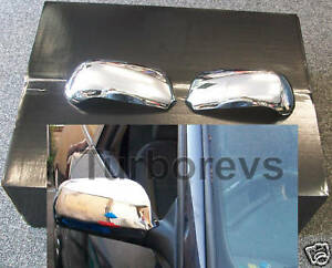 CHROME DOOR WING MIRROR COVER CAPS FOR AUDI A4 B7 A3 8P A6