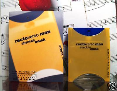 Rectoverso Man Absolute Musk Edt Spray 100ml.