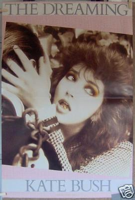 "KATE BUSH ""The Dreaming"" 20""x30"" PROMO POSTER ©1982"
