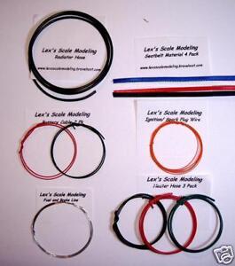 Model-Detailing-Kit-Hose-Fuel-Line-Seat-Belt-More
