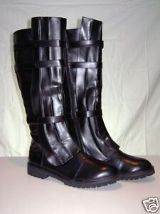 Jedi-Skywalker-Obi-Wan-Sith-Boots-Brown-Black