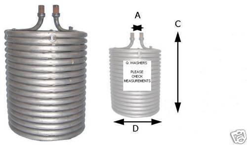 Karcher Compatible Coil Boiler Heater Steamcleaner Hds 501c 601c