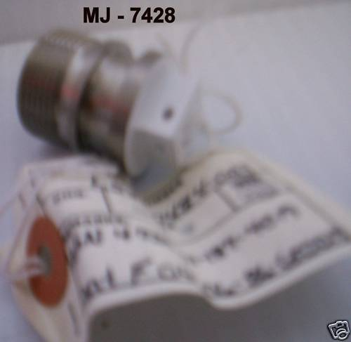 Boeing Co - Threaded Stainless Steel Tube Fitting Plug - P/N: L5800484-003 (NOS)