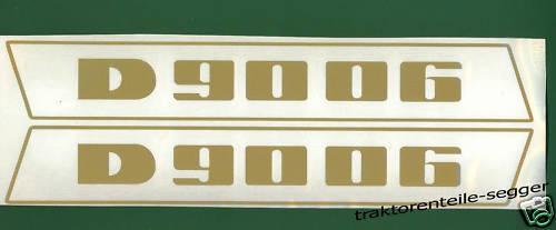 Deutz Aufkleber 9006 Haubenaufkleber Traktor NEU  Foto 1