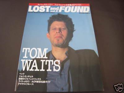 Lost Found Japan Mag Book feat Tom Waits Joni Mitchell
