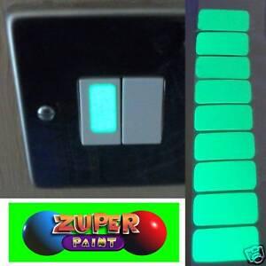 Glow-in-the-dark-Vinyl-light-switch-stickers-x-10