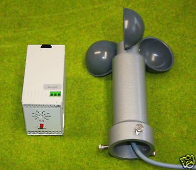 Windwächter/Windwarngerät 230V für Markisen Lichtkuppel