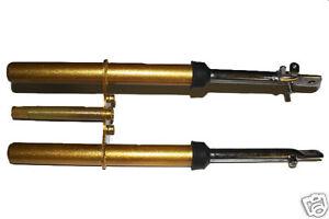 Front Fork Suspension Shock Parts For Honda CRF50 XR50 Dirt Pit Bikes 50cc Gold