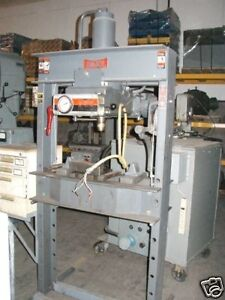 Dake 50 Ton Electric Hydraulic H Frame Press