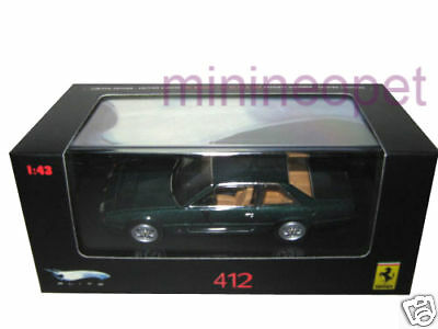 Hot Wheels N5598 Elite 1985 85 Ferrari 412 1/43 Diecast Green