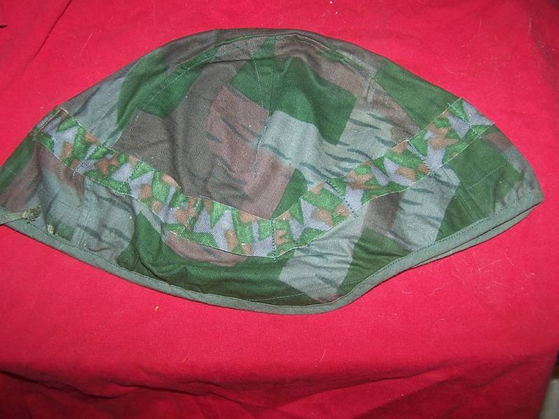 WWII SWISS GERMAN  REVERSABLE HELMET COVER MINT NOS
