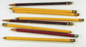 LOT of collectible vintage drawing pencils color  lot A