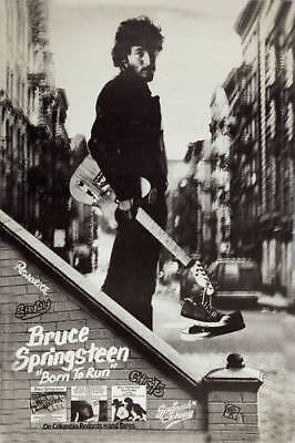 Bruce Springsteen * Born To Run * Columbia Records Promo  Poster 1975