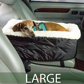 lookout console dogs car suv carrier booster pet seat. Black Bedroom Furniture Sets. Home Design Ideas