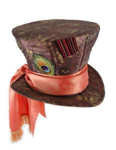 Madhatter Mad Hatter Costume Hat Alice in Wonderland