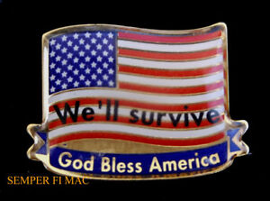 GOD-BLESS-AMERICA-USA-FLAG-HAT-PIN-NY-911-US-ARMY-NAVY-AIR-FORCE-MARINES-USCG